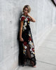 PREORDER - Esmeé Floral Applique Maxi Dress