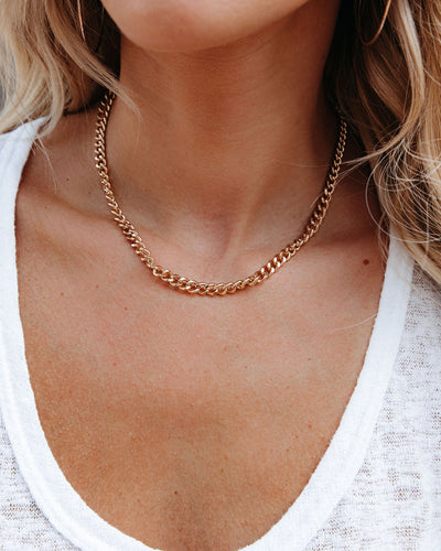 Eternal Chain Choker Necklace