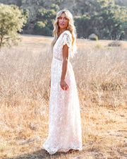 Ever Thine Ever Mine Lace Maxi Dress