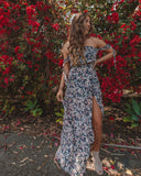 Fantasia Off The Shoulder Maxi Dress