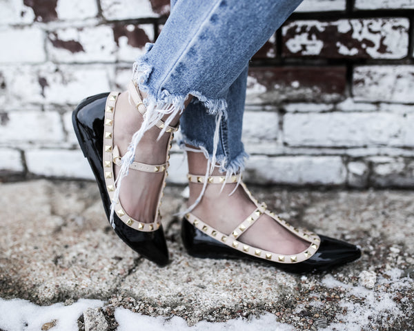 Ambrie Studded Flat - FINAL SALE