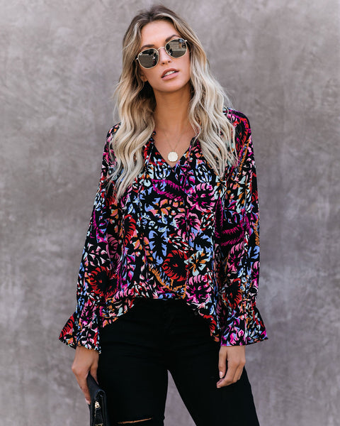 Fearless Printed Blouse