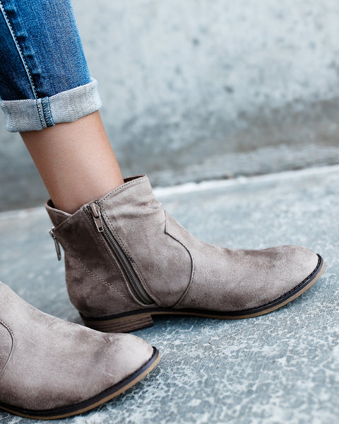 Stevenson Scrunched Ankle Bootie - FLASH SALE