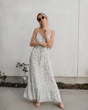 Tilly Floral Empire Maxi Dress - FINAL SALE