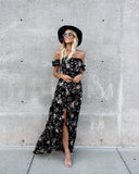 Forever Young High Low Maxi Dress