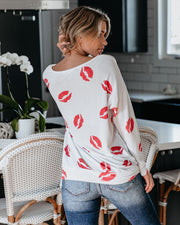 French Kiss Relaxed Knit Top