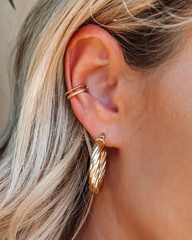 Gallery Double Ear Cuff view 3