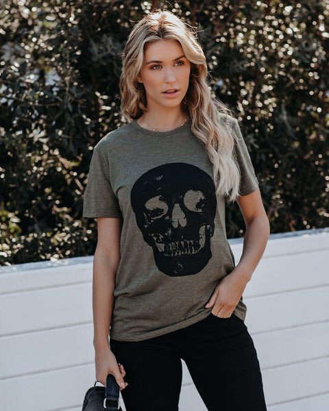 Ghoul's Best Friend Skull Tee - FINAL SALE