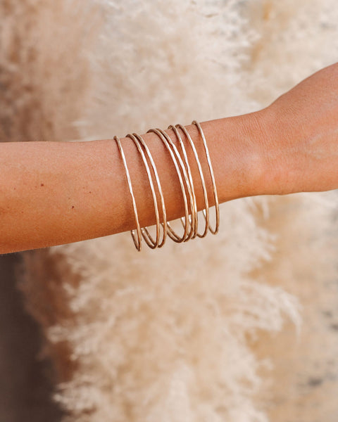 Golden Hour Bangle Set