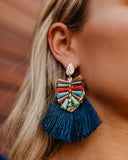 Grand Cayman Statement Fringe Earrings