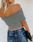 Hautest Off The Shoulder Knot Top