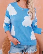 Head In The Clouds Knit Sweater - FINAL SALE