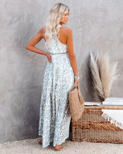 Heaven On Earth Cotton Crochet Tiered Maxi Dress view 9