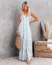 Heaven On Earth Cotton Crochet Tiered Maxi Dress view 1