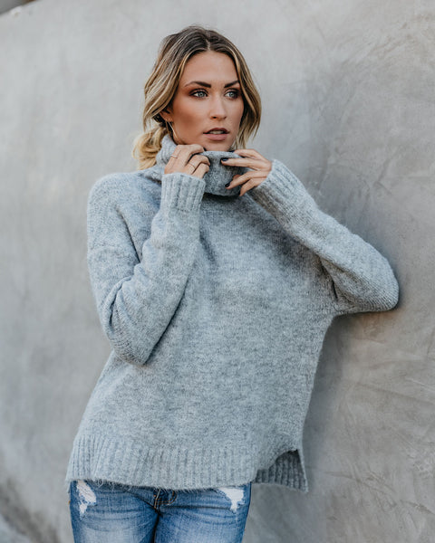 Henry Sweater - Heather Grey   - FINAL SALE