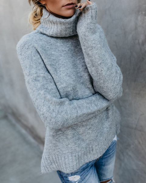 Henry Sweater - Heather Grey
