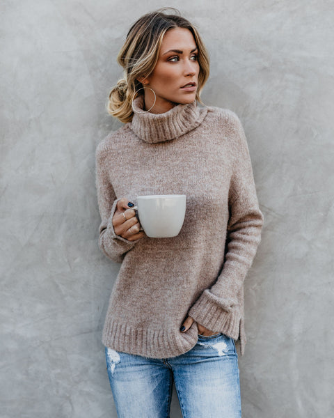 Henry Sweater - Oatmeal - FINAL SALE