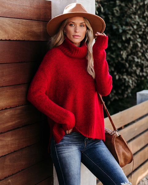 Henry Sweater - Red