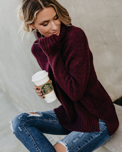 PREORDER - Henry Sweater - Wine
