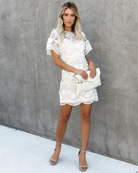 Hermes Embroidered Dress
