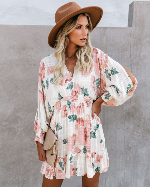 Hickory Floral Smocked Dress