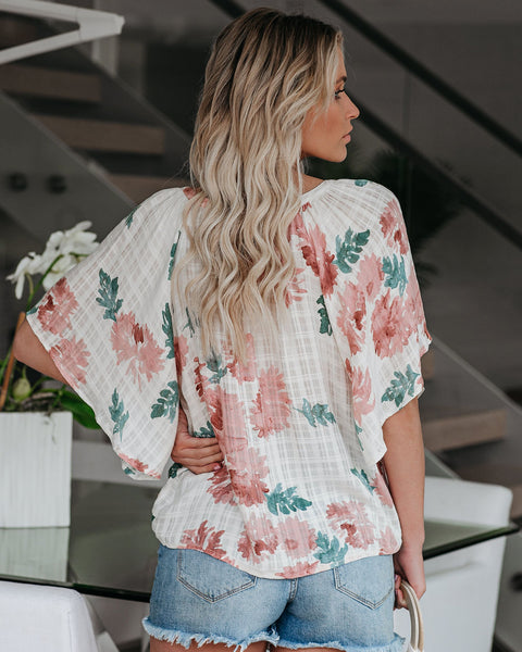 Honeysuckle Sweet Floral Top - FINAL SALE