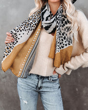 Horizon Animal Print Scarf - FINAL SALE view 2