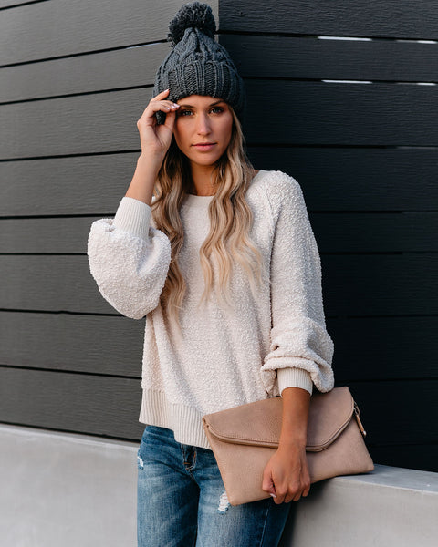Hot Potato Knit Pullover