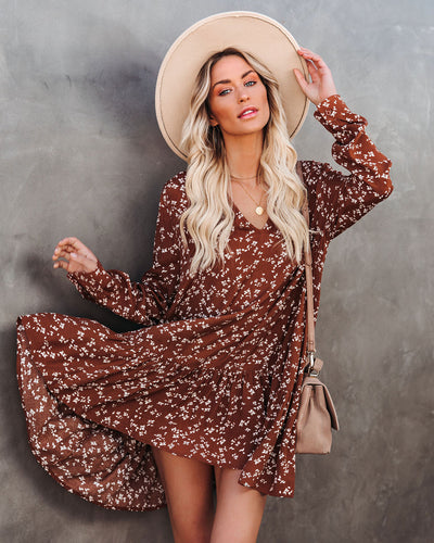 How Kind Pocketed Floral Babydoll Dress