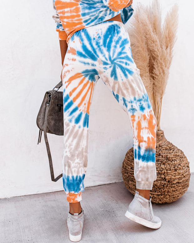 Icebreaker Cotton Pocketed Tie Dye Joggers