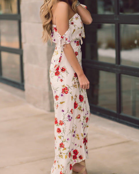 In The Flowers Maxi Dress
