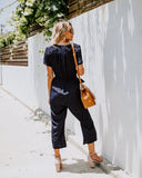 Inner Circle Pocketed Jumpsuit - FINAL SALE