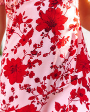 Intimate Retreat Floral Midi Dress view 4