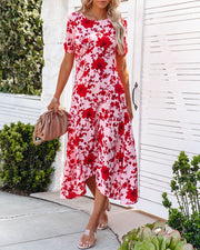 Intimate Retreat Floral Midi Dress view 6