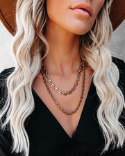Ira Layered Chain Necklace