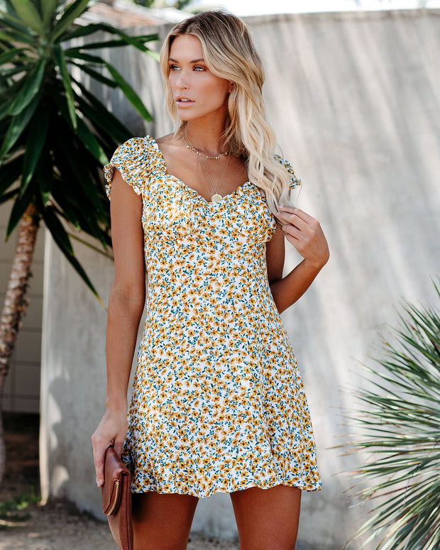 Isn't It Lovely Floral Mini Dress