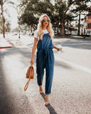 Factory Pocketed Tencel Overalls