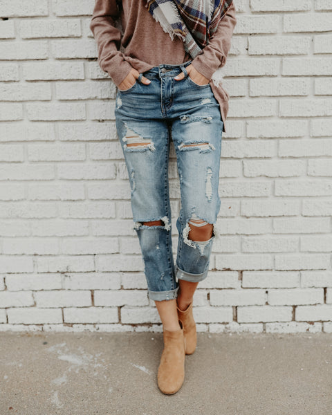 Elliot Boyfriend Denim
