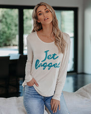 Jet Lagged Long Sleeve Tee  - FINAL SALE