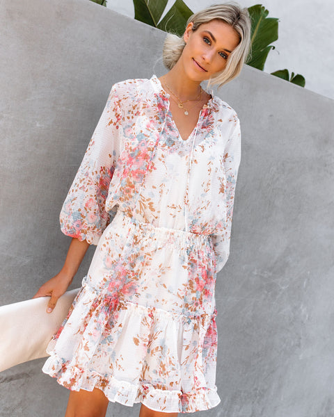 Joelle Floral Smocked Dress
