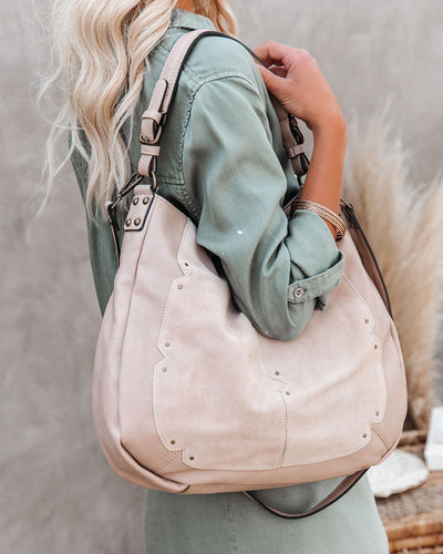 Jolie Suede Hobo Bag