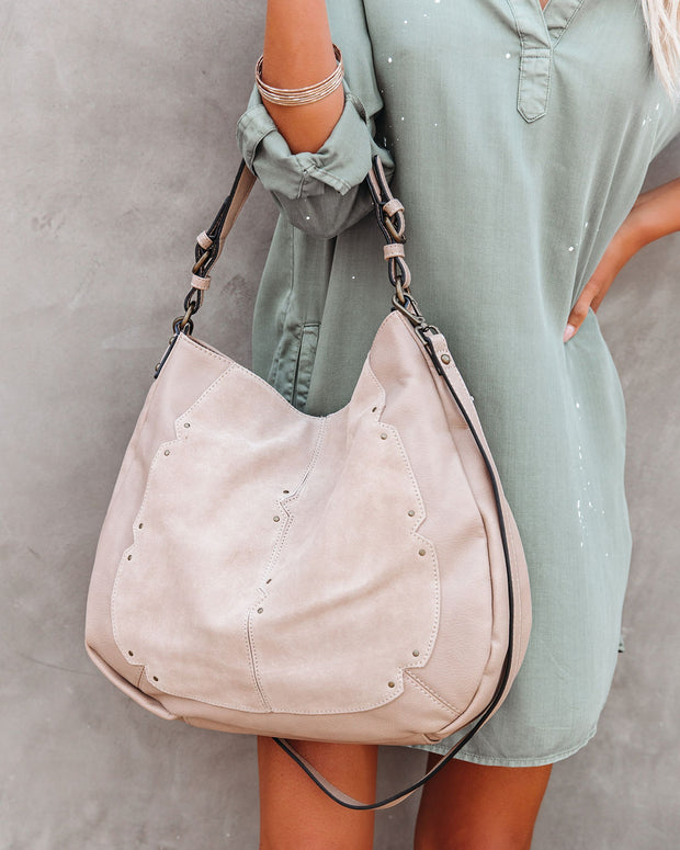 Jolie Suede Hobo Bag view 5