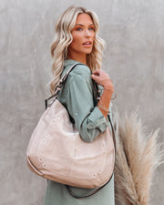 Jolie Suede Hobo Bag view 1