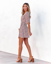 Jora Spotted Wrap Dress