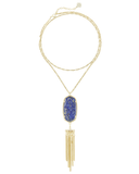 KENDRA SCOTT - Rayne Necklace In Raw Cut Lapis