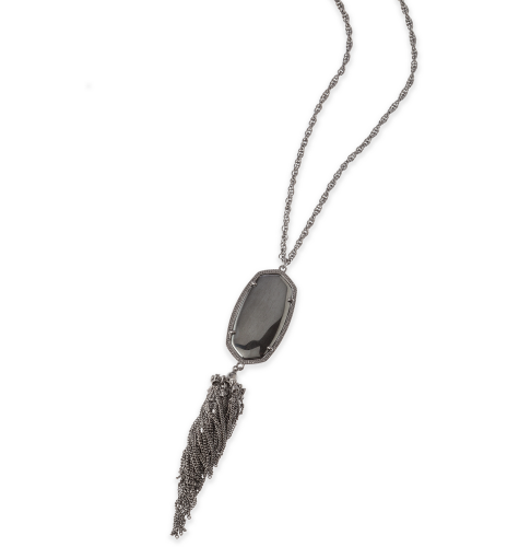 KENDRA SCOTT - Rayne Necklace In Hematite