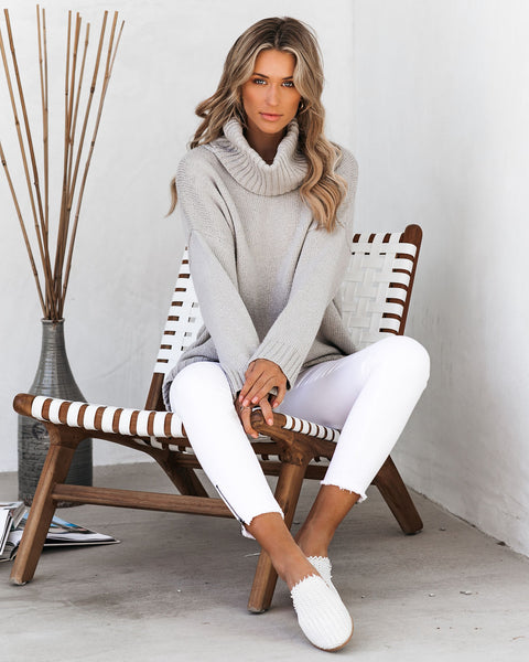 Kenneth Relaxed Turtleneck Sweater - FINAL SALE