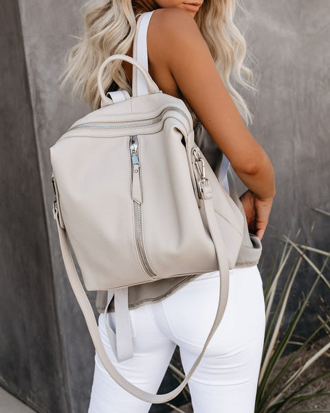 Kenzie Backpack - Bone