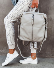 Kenzie Backpack - Grey view 7