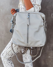 Kenzie Backpack - Grey view 6